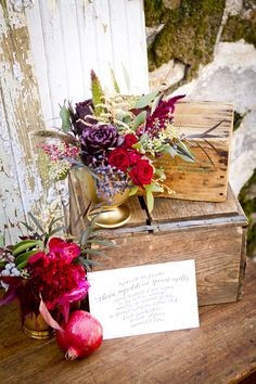 Angie Capri Photography, Styled by Amanda O'Shannessy of of One True Love Vintage Rentals, Florals by Huckleberry Karen