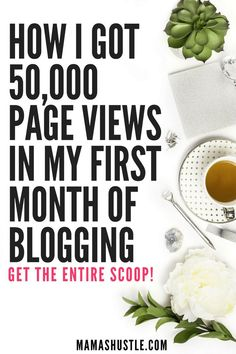 How I Got 50,000 Pageviews in My 1st Month of Blogging