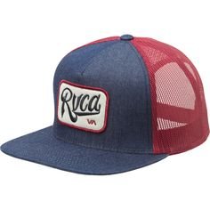 trucker hats   Home Mens Clothing Hats Trucker Hats RVCA Overtime Trucker Hat - 2012