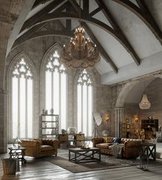 Modern Gothic Home Decor . Modern Gothic Home Decor . More Modern Gothic Gothic Interior, Gothic Home Decor, Home Interior Design, Interior Architecture, Victorian Gothic Decor, French Gothic Architecture, Interior Office, French Interior, Luxury Interior