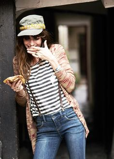 Lou Doillon photographed by Garance Dore for Free People.