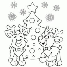 Reindeer Coloring Page – Free Christmas Recipes, Coloring Pages for Kids & Santa Letters – Free-N-Fun Christmas Make your world more colorful with free printable coloring pages from italks. Our free coloring pages for adults and kids. Preschool Christmas, Christmas Activities, Christmas Printables, Christmas Recipes, Free Coloring, Coloring Pages For Kids, Coloring Books, Colouring Sheets, Santa Coloring Pages