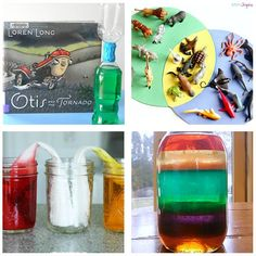 Science exploration activities for young kids.