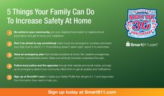 5 Things Your Family Can Do To Increase #Safety At Home. #NNO