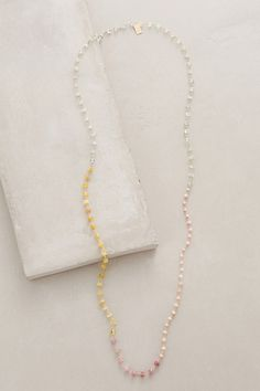 Ombre Spectra Necklace #anthropologie
