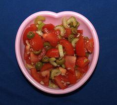 Paradajkovo zelerovy salat