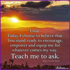 Prayer-Ask, seek, knock