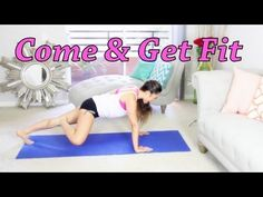 ▶ POP Pilates: Come and Get Fit - YouTube