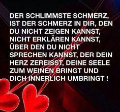 Sprüche die das Herz berühren True Words, Truth Hurts, It Hurts, Daddy In Heaven, German Quotes, Love Others, Movie Quotes, Picture Quotes, Grief