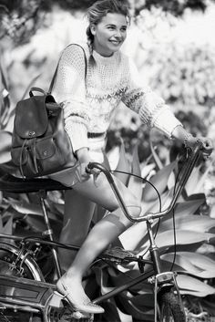 "Chloe Grace Moretz in Coach's ""Dreamers"" spring campaign. [Courtesy Photo]"