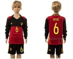 http://www.xjersey.com/belgium-6-witsel-home-youth-long-sleeve-euro-2016-jersey.html BELGIUM 6 WITSEL HOME YOUTH LONG SLEEVE EURO 2016 JERSEY Only $35.00 , Free Shipping!