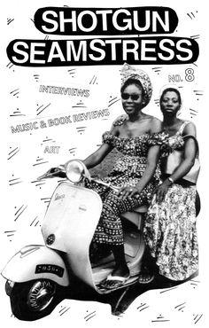Shotgun Seamstress zine #8 cover by Osa Atoe (2015)