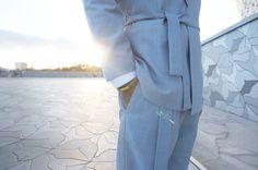 Costume - SAUDADE DE PARIS - Ciel de Paris - Tailoring - Paris - Men Outfit - Gentleman - Suit - Kimono - Philharmonie