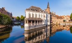 Bruges: Classic Twin or King Room for Two with Optional Breakfast at Hotel Velotel Brugge Bruges, Church Of Our Lady, Fitness Facilities, Brick Building, Best Seasons, Hotel S, Bike Trails, Town Hall, Public Transport