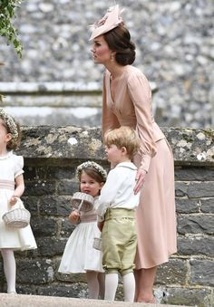 Duchess Kate Middleton, Princess Charlotte, Prince George - Pippa Middleton marries James Matthews: The best photos from their wedding day
