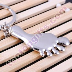 custom key tags foot personalized metal keychains