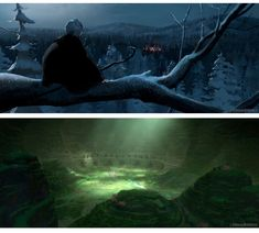 Concepts de Woon Jung para Rise of the Guardians | THECAB - The Concept Art Blog