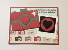 Valentine Card/ Camera Valentine Card/ by ChrisiesCollection