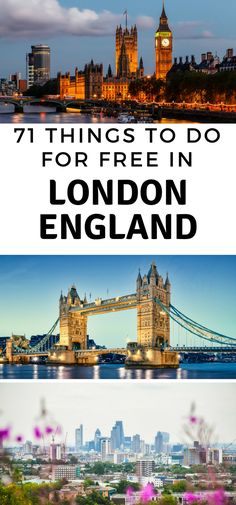 Walk around London all day without spending a dime. There is so much to do and see, all for free. Here are 71 Truly Free Things to do in London England. #london #england #thingstodo #travel #ourroaminghearts | Travel | Things to Do in England | London Travel | Bucket List