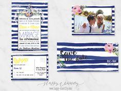 faire-part-mariage-marin-nautique-rayures-bleu-raye-fleurs-peinture-aquarelle-peinture-happy-chantilly
