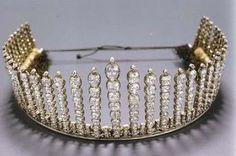 Königliche Juwelen: Königin Alexandrine Fringe Tiara