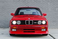BMW E30 M3 | BMW | M3 | M series | red BMW | red cars | car photos | classic cars | classic BMW