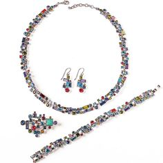 Multi-Faceted Mosaic Jewelry, Patricia Locke
