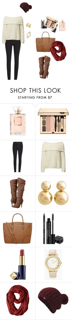 """Winter is Here! #style #winterseason #polyvore"" by clauxsanchex on Polyvore featuring moda, Chanel, Cheap Monday, Notion 1.3, Michael Antonio, H&M, Dorothy Perkins, Rodial, Estée Lauder y Chico's"