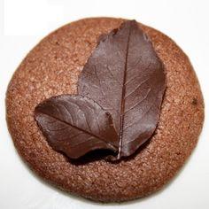 hoja de chocolate