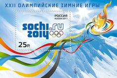 sochi 2014 | Sochi 2014 Olympic stamps and philatelia on sale across Russia