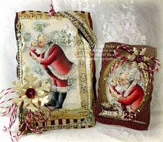 Santa with Letter picture 1 by Linda D - Cards and Paper Crafts at Splitcoaststampers