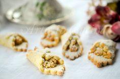 Fazzoletti di frolla ripieni alle mandorle veloci vickyart arte in cucina