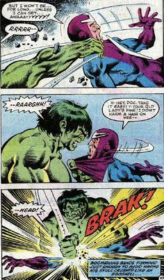 Boomerang is an interesting enough villain; but against the Hulk he is simply out of his league.