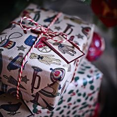 SNÖMYS gift wrap roll