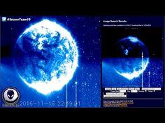 GIANT Alien Object On NASA Satellite Imagery? 11/21/16