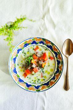 Báránycsorba - Magyarkonyha Thai Red Curry, Ethnic Recipes, Food, Eten, Meals, Diet