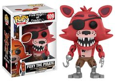 POP! Games: Five Nights At Freddy's - Foxy The Pirate