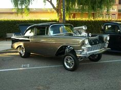 56 Chevy gasser..Re-pin..Brought to you by #HouseInsurance #EugeneOregon Insurance for #cars old and new.
