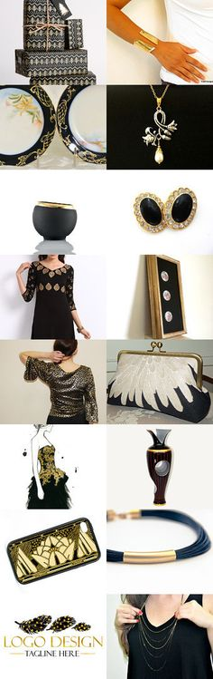 Gifts of Black Gold by Linda Karen on Etsy--Pinned+with+TreasuryPin.com