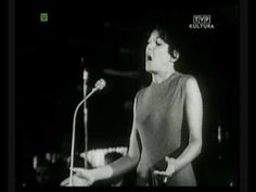 Monique Leyrac - Mon pays (Sopot 1965) Grand Prix, French, Formal, Concert, Music, Youtube, Strong, Men, Canada