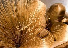 Encontrado na região do Jalapão, no Tocantins, o capim dourado é uma das preciosidades do Brasil