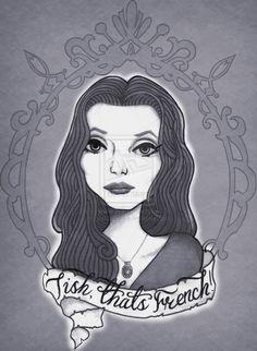 deviantART: More Like Morticia Addams by ~rotten-ralph