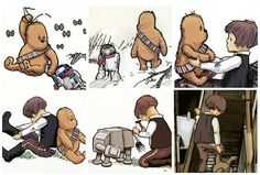 Star Wars Pooh Bear, I swear I want to do this for a nursery when/if I have a baby boy.