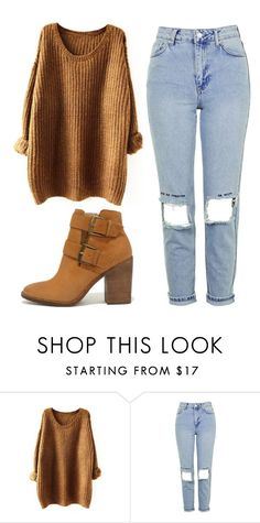 """Untitled #398"" by graciiehemmo ❤ liked on Polyvore featuring Topshop and Steve Madden"