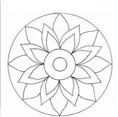 desenho de mandala para artesanato Mandala Art, Mandala Drawing, Mandala Painting, Mandala Pattern, Dot Painting, Mandala Design, Rangoli Patterns, Mosaic Patterns, Stained Glass Flowers