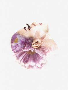 We are all made of flowers on Behance, by artist and photographer: Aneta Ivanova