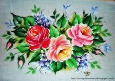 Pintura Em Tecido - Venha Aprender Pintura em Tecido: Abril 2012