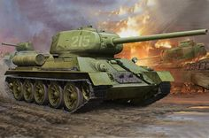 Hobbyboss 1:16 - T34/85 Tank