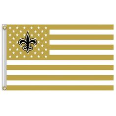 Free shipping NFL 3'x5' New Orleans Saints flag, 90x150cm New Orleans Saints rugby football banners