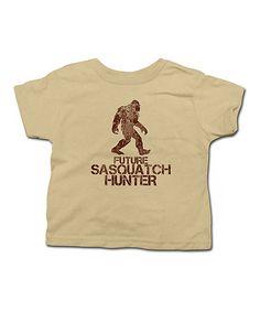 Another great find on #zulily! Khaki 'Sasquatch Hunter' Tee - Toddler & Kids #zulilyfinds